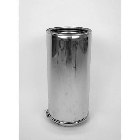 Skorstensrör, Ø250-300, L: 500 mm.