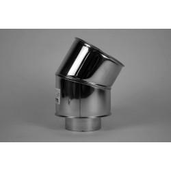 Skorstensböj 30°, Ø200-250mm
