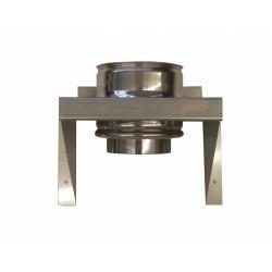 Väggfäste för skorstensrör Ø180-225mm, L: 400 mm