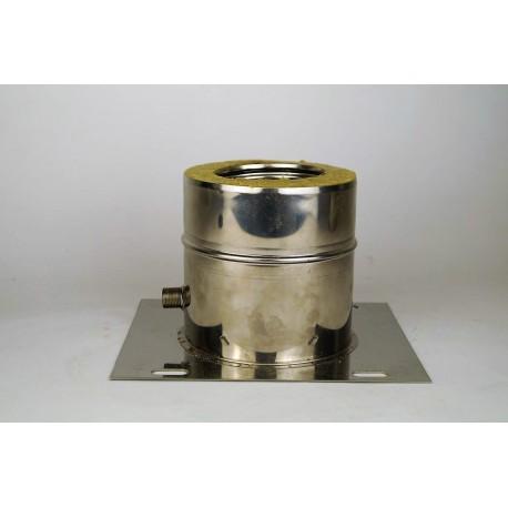 Plåt med kondensavlopp Ø180-230mm