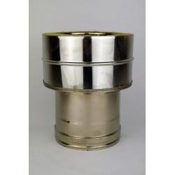 Övergång Ø150-200mm (hona)