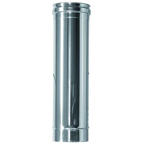 Rökrör Ø150mm, L: 1000mm