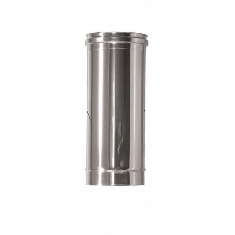 Rökrör/Kaminrör Ø150mm, L: 500mm.