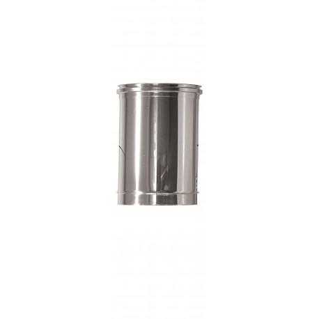 Rökrör/Kaminrör Ø150mm, L: 250mm
