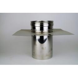 Toppanslutning med krage, Ø180mm