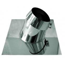 Takgenomföring, Ø150mm, taklutning 5°-20°.