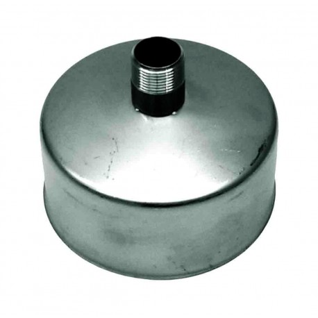 Lock till rökrör med kond. avtappning Ø180