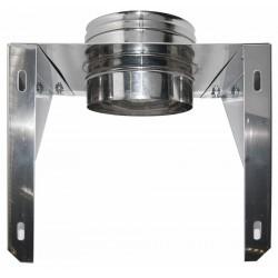 Väggfäste Ø150mm för stolkonstruktion.