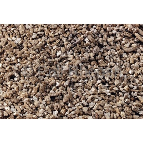 Vermiculite korn medium 0-3mm (100 liters påse).