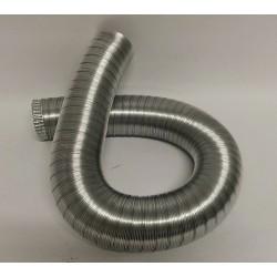 Aluminiumrör, flexibelt Ø180mm (3 meter)