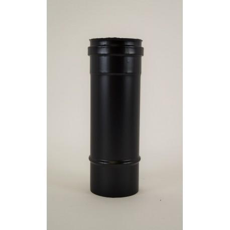 Kaminrör, svart, Ø80mm, L: 250mm