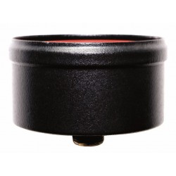 Kondenseringslock (svart), Ø100mm.