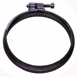Klämband Ø100mm, svart