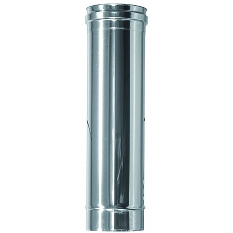 Rökrör / Kaminrör Ø120, L: 250mm
