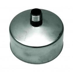 Rookkanaal RVS, Deksel/condens afvoer, diameter Ø130