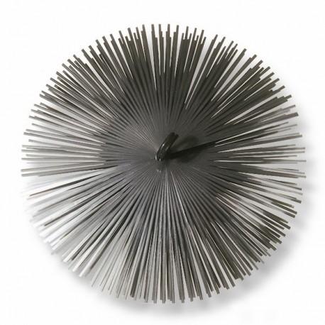 Borstelkop staal, rond, 300mm