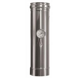 Rökrör med temperatursensor Ø140mm, L: 500mm