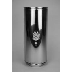 Skorstensrör med temperatursensor Ø100-150mm L: 500mm