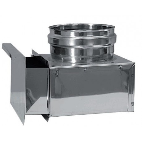Sotlåda, anslutning Ø250mm