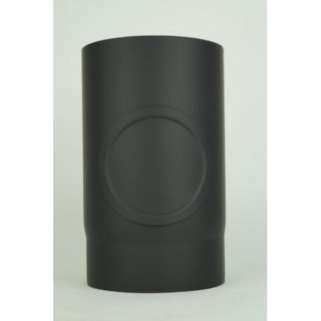 Rökrör med inspektionslucka Ø120mm L: 250mm