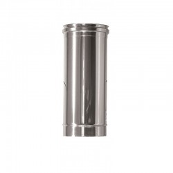 Rökrör/Kaminrör Ø160mm, L: 500mm.