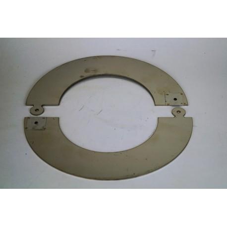 Täckring Ø130mm (delbar)