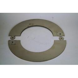Täckring diameter Ø160 (delbar)