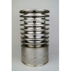 Regnhuv med vindskydd (isolerad), Ø300-350mm