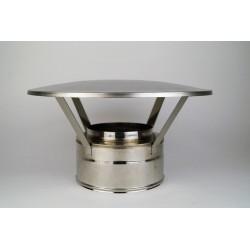 Regnhuv för rökrör Ø150-200mm.