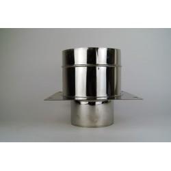 Anslutningsstycke Ø150-200mm, med genomföringsstöd Ø150-200mm