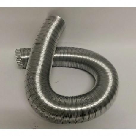 Flexibelt aluminiumrör, Ø160mm (3 meter)