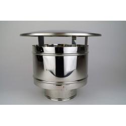 Regnhuv för rökrör Ø120-170mm.