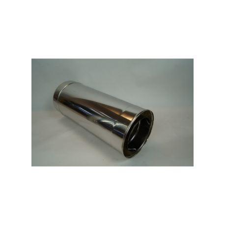 Modulskorsten 140mm L: 500mm