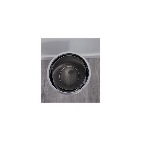Anslutningsstycke dubbelväggigt Ø140-190mm - nichuttag