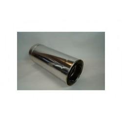 Skorstensrör Ø160-210mm, L: 500mm