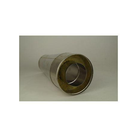 Dubbelväggsrör, konisk öppen huva, diameter Ø160-210