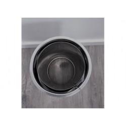Anslutningsstycke dubbelväggigt - nischuttag, Ø160-210mm