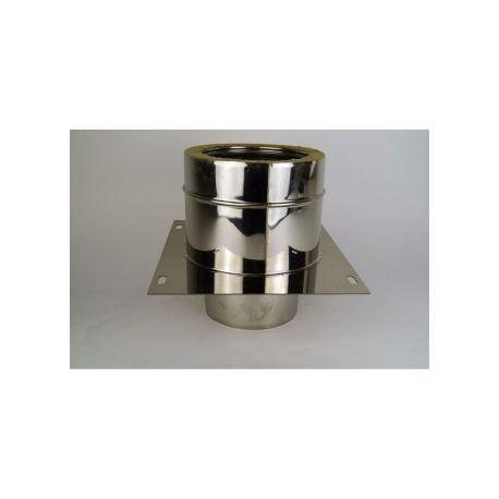 Dubbelväggsrör, anslutningsstycke dubbelväggigt - nischuttag, diameter Ø160/210