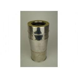 Reduceringsvägg, Ø160-210mm