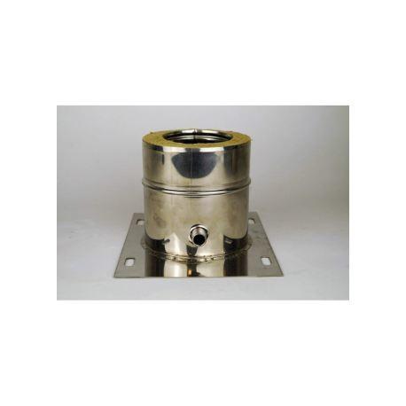 Platta med kondensavlopp, Ø140-190mm