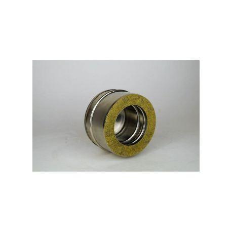 Dubbelväggig modulskorsten, inspektionslock för T-stycke Ø160/210.