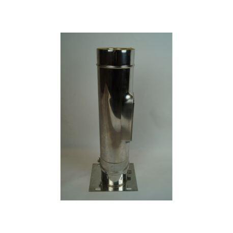 Inspektionselement med kondensavlopp, Ø160-210mm