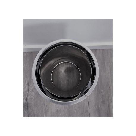 Dubbelväggig modulskorsten Ø100-150mm, anslutningsstycke dubbelväggigt - nischuttag