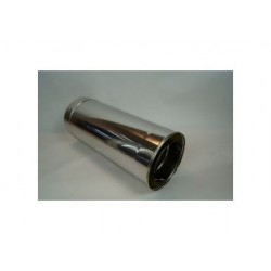 Skorstensrör, Ø120-170mm, L: 500mm.