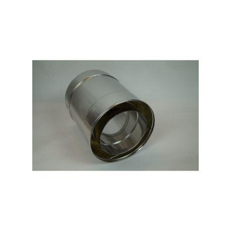 Skorstensrör, Ø120-170mm, L: 250mm.
