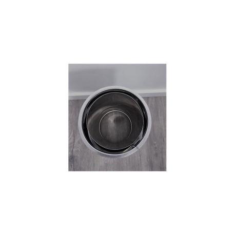 Anslutningsstycke dubbelväggigt - nischuttag. Ø120-170mm