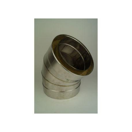 Rökrörsböj 45° med 3-segment, Ø120-170mm