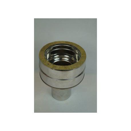 Övergång dubbelisolerat - enkelisolerat Ø150-200mm