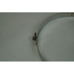Väggfäste i rostfritt stål, Ø180mm med gängstång.
