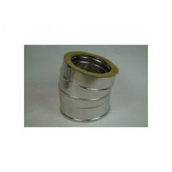 Skorstenrörsböj 5° Ø180-230mm.